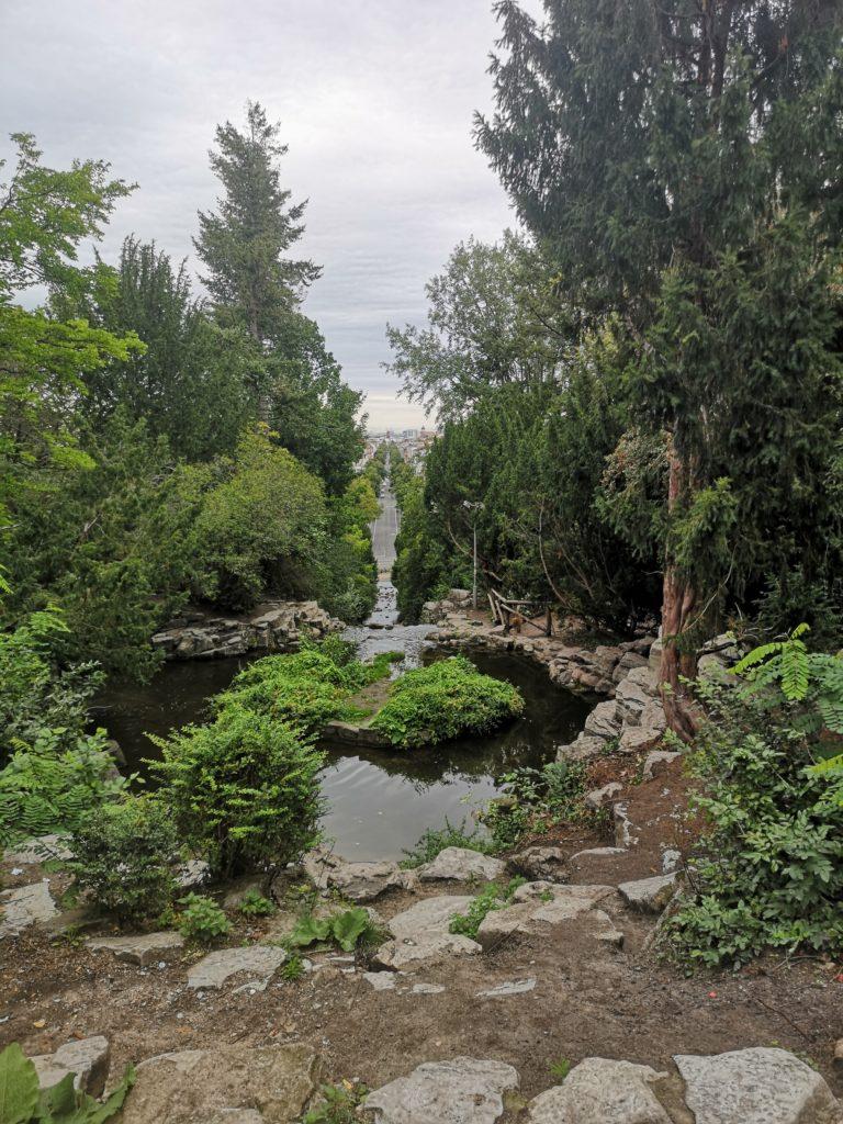 im Viktoriapark...